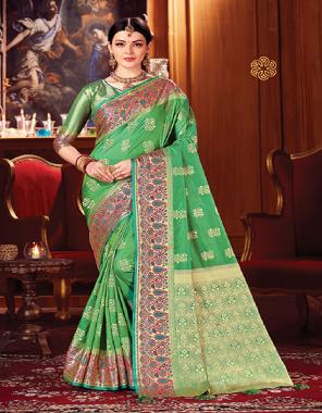 peorrot art silk fabric jacquard work ethnic