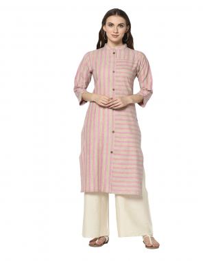 light pink cotton rayon fabric printed work wedding