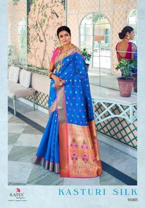 sky silk fabric weaving work wedding