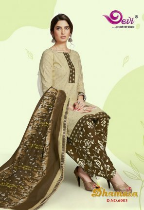 tan pure cotton fabric printed work casual