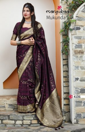 jam soft silk fabric weaving work wedding