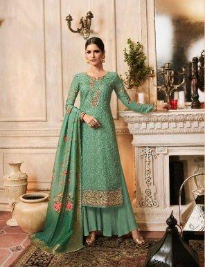 rama pure tussar silk fabric embroidery work casual