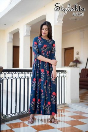 navy blue maslin fabric digital printed work fastive