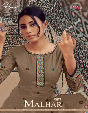 mehndi top -pure cambric digital print with fancy mirror work   bottom - pure cotton soild   dupatta - pure nazmeen print  fabric printed + embroidery  work festive