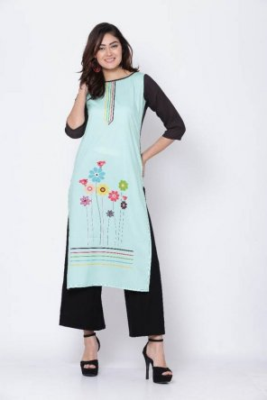 multi cotton fabric digital printed work casual