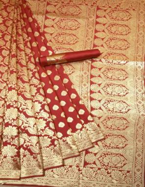 marron soft kanchipuram silk fabric weaving jacqaurd  work festive