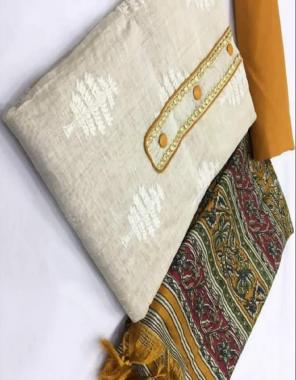 white top - khadi cotton   bottom - heavy indo   dupatta - banglori 2.10m fabric embroidery work running