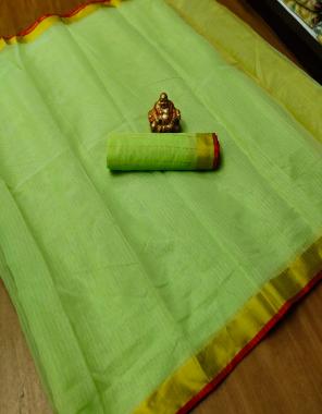 parrot soft gotta dorya silk fabric plain work casual