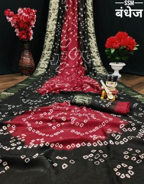 black art silk fabric zari weaving  work wedding