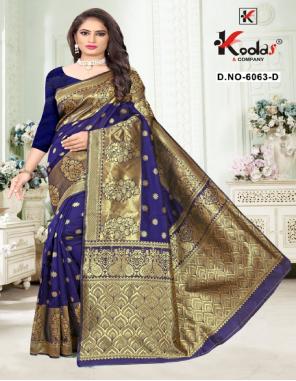 blue silk fabric weaving jacqaurd  work festive