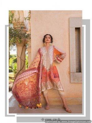 multi cotton fabric emboidery work festive