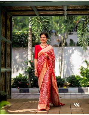 marron kanchipuram silk fabric weaving jacqaurd work wedding