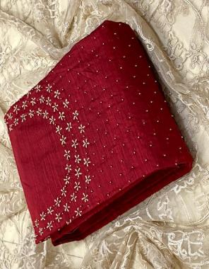 red top -chanderi with khatli work 1.90m | inner- santoon 1.6m | bottom - santoon 2m | dupatta -net 2.10m fabric khatli work  work wedding