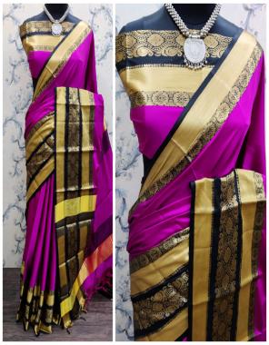 dark pink heavy jacqaurd cotton silk fabric jacqaurd weaving work casual