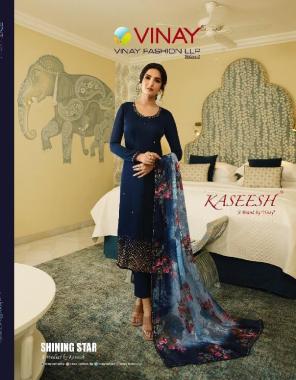blue top -satin georgette   bottom + inner -santoon  dupatta -brasso digital fabric embroidery digital print work wedding