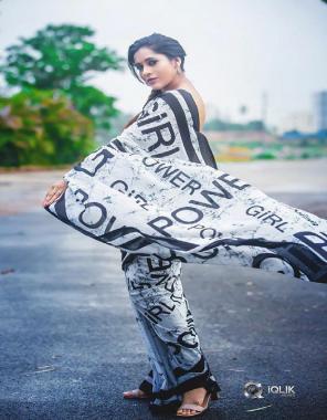 white black  pure japan satin with banglori satin blouse fabric printed work casual