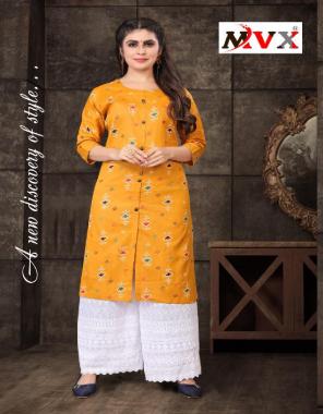 yellow kurti - heavy cotton with jaipuri bandhej print length 42 |palazzo - cotton chikan kari work length 40 fabric chikankari work wedding