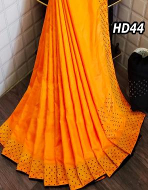orange saree -sana silk |blouse -banglori silk fabric stone hot pix work wedding