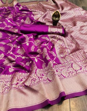 wine kota silk fabric weaving jacqaurd work party wear