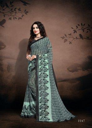 colorfull  dani fabric printed work casual