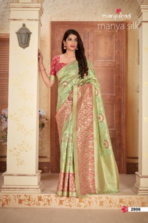pista banarasi silk  fabric weaving  work wedding