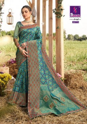 rama zari silk fabric weaving work festival