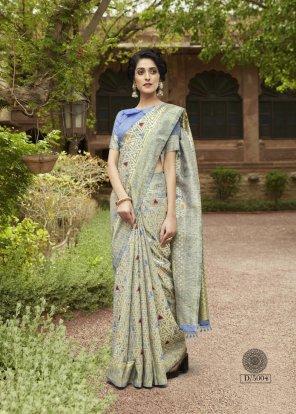 multi festive fabric weaving work festive