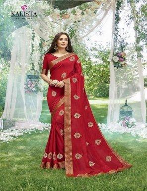 maroon vichitra silk fabric party work weaving