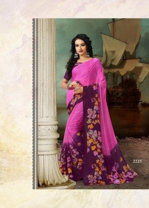 rani pink rennial printed fabric printed work casual