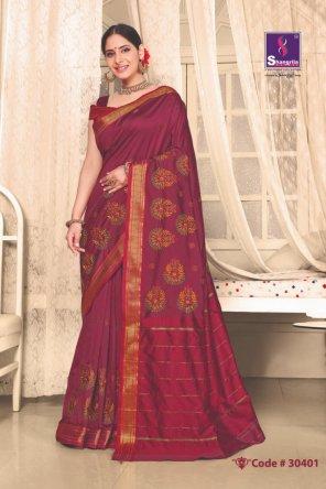 maroon silk fabric embroidery work wedding