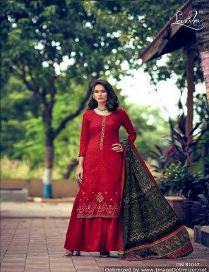 maroon pure pashmina fabric self embroidery work festival