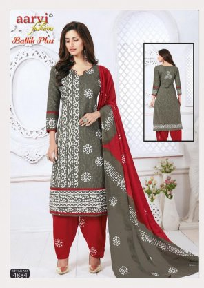 grey cotton fabric print work casual