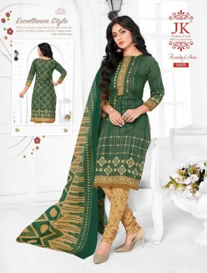 green pure cotton fabric print work casual