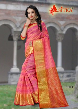 pink cotton fabric weaving work casual