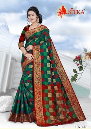 multi cotton silk fabric weaving work feasival