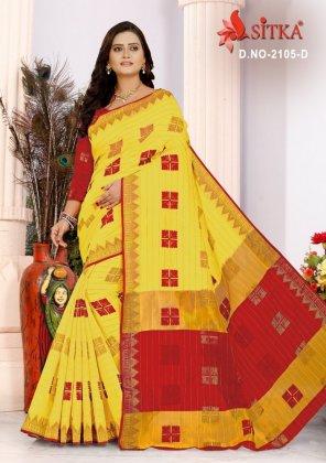 multi cotton silk fabric weaving work casual