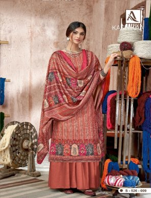 multi pure pashmina fabric digital print work casual