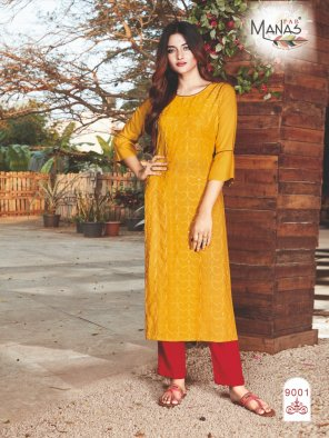 methi yellow rayon cotton fabric sequance work work wedding