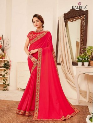 rani vichitra silk fabric embroidery work casual