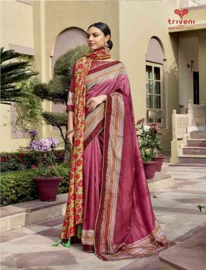 shading color chanderi silk fabric lace work work festival