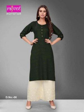 green rayon fabric plain work casual