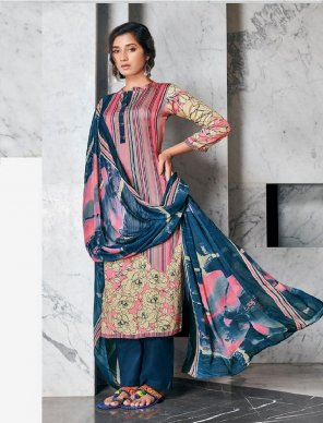 colorfull  jam satin fabric printed  work casual