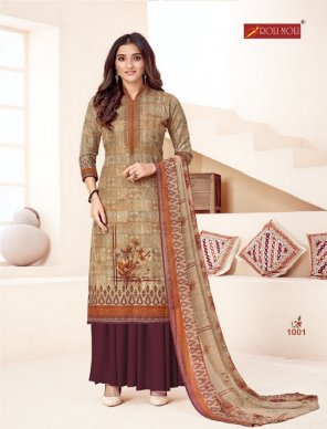 light wood heavy indo  fabric printed work casual