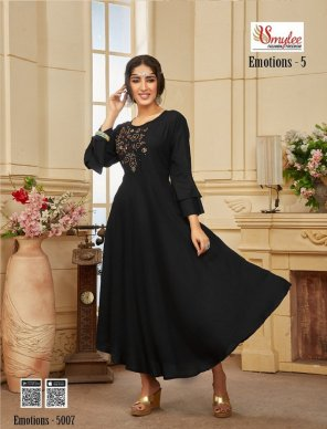 black heavy rayon fabric hand work work festival