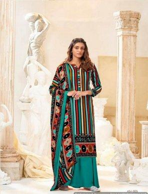 batli  pure pashmina fabric printed work festival