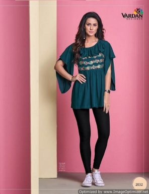 peacock heavy rayon fabric embroidery work casual