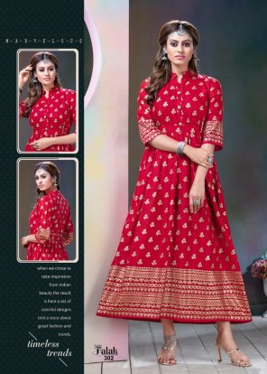 rubby red rayon fabric print work casual