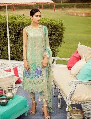 pista cotton fabric embroidery work wedding