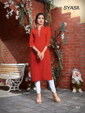 red heavy rayon  fabric plain work casual