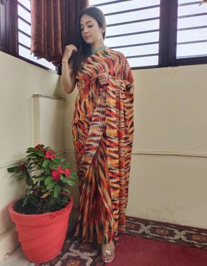 multi saree -vichitra silk | blouse -banglori silk fabric seqeunce work work wedding